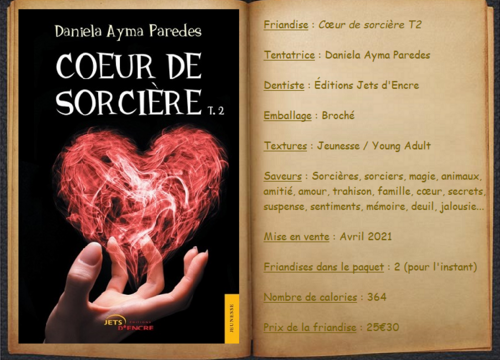 Cœur de sorcière T2 - Daniela Ayma Paredes