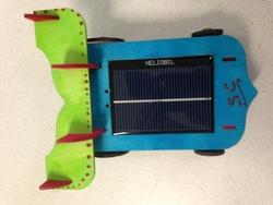 Victoire de notre voiture solaire....