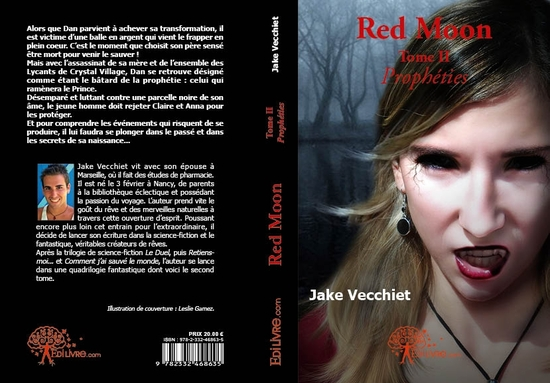 red moon - tome ii prophéties couverture