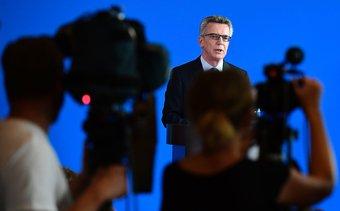 Thomas de Maiziere © AFP