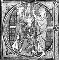 Couronnement de Chilpéric II (1)