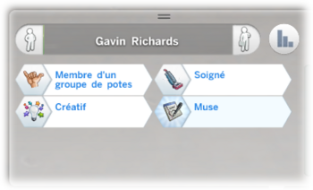 Gavin Richards caractère