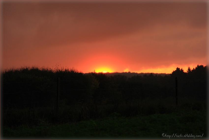 Un soir d'automne à Chimay et dans sa campagne...(2013, Belgique)