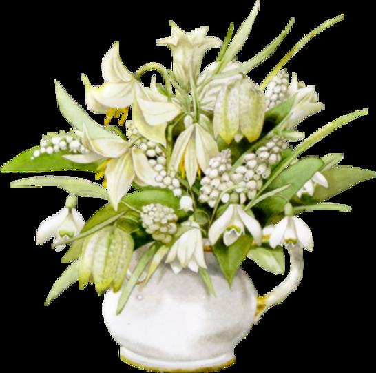 Compositions Florales Muguet Série 3