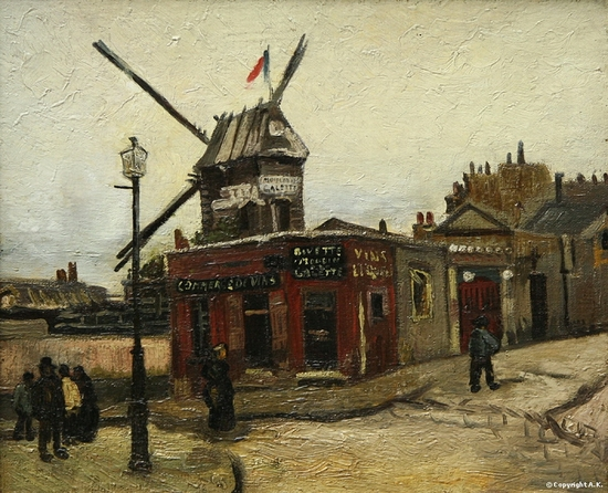Vincent Van Gogh, Moulin de la galette