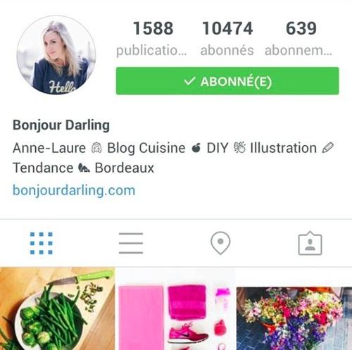 Vis ma vie sur Instagram