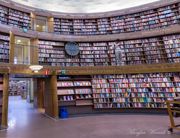 Suède : La bibliothèque de Stockholm 1/2