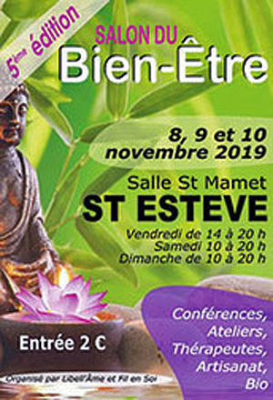 5eme édition du Salon du Bien-Être de Saint-Estève
