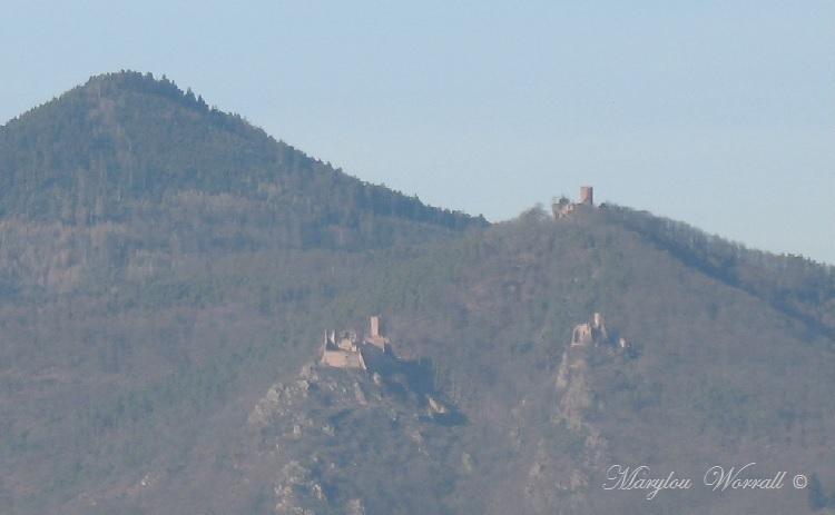Ribeauvillé 68 : Les trois châteaux