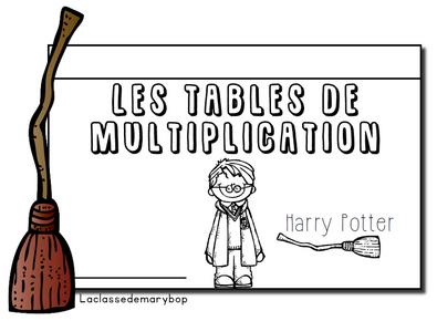 Livret Multiplications Harry Potter