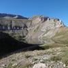 Passage près du ibón de los Asnos (2060 m)