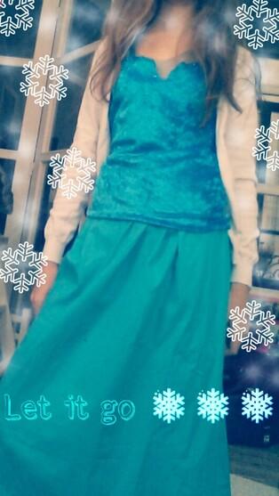 La reine des neiges... c'est moi !