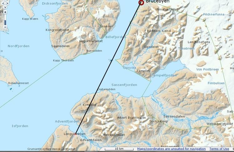 øvelse Svalbard... en plein dedans
