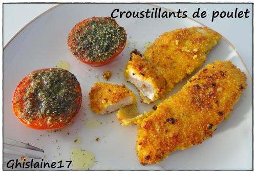 Croustillants de poulet