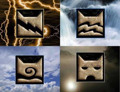les 4 clans