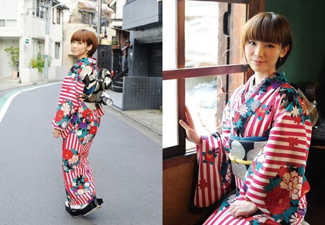 Models in Traditionnal Clothes : ( [ROCKIN'ON JAPAN] - |2013.03| Sachiko Aoyama/蒼山幸子 ( NEGOTO/ねごと )