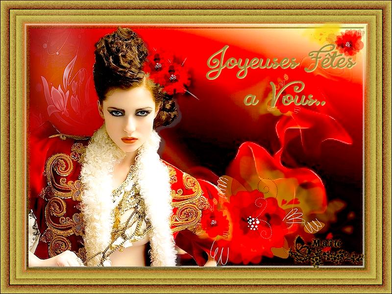 Belles Fêtes à Vous Tous...