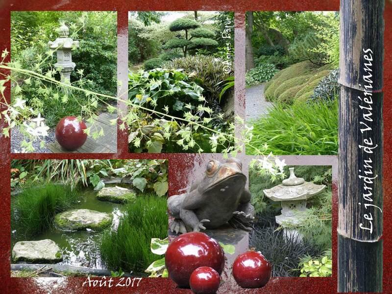 Le jardin de Valérianes : le jardin japonais