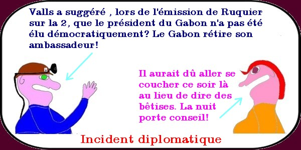 incident diplomatique
