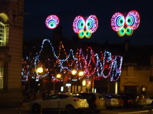 Les illuminations de Noël !!