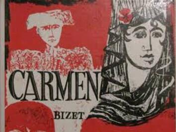 """Résultat de recherche d'images pour """"carmen opéra affiche"""""""