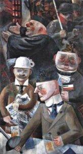 Grosz - Les piliers de la société (1926)