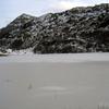 L'étangs de Lers gelé...
