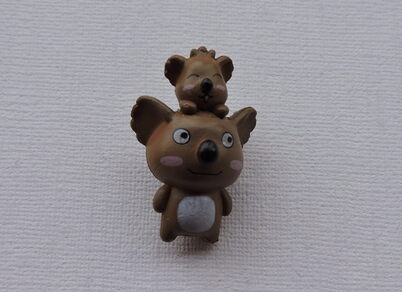 Koala gris ou marron miniature