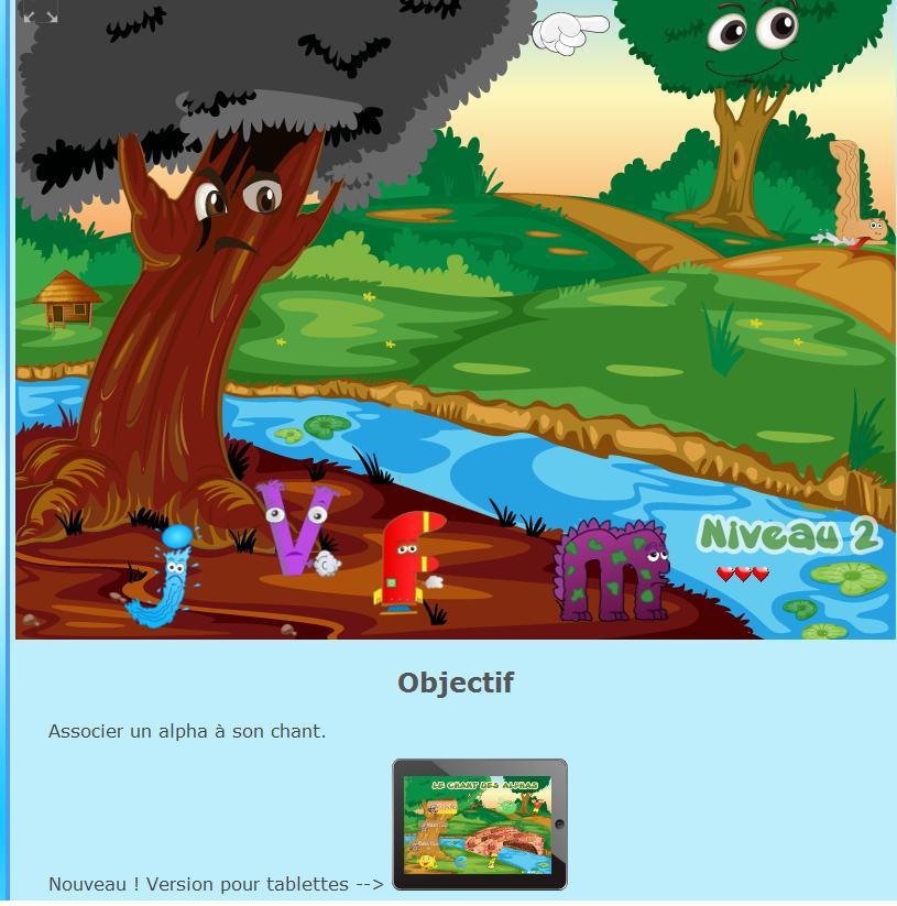 jeux en ligne alphas