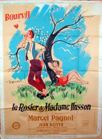 LE ROSIER DE MADAME HUSSON -  BOURVIL BOX OFFICE 1950
