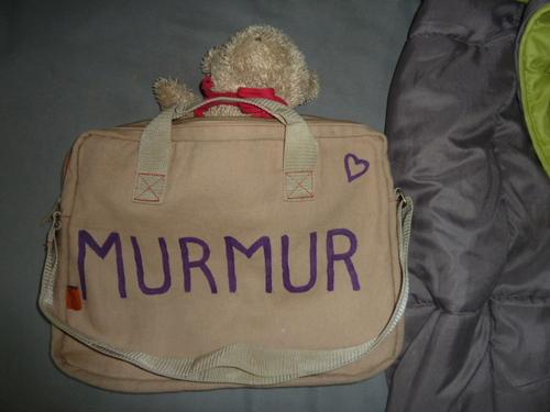 La mascotte Murmur !