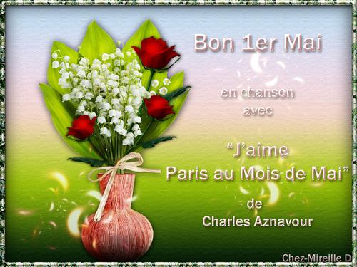 Bouquet à Offrir pour le 1er Mai + Diaporama