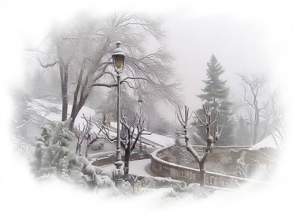 Quelques paysages hivernaux