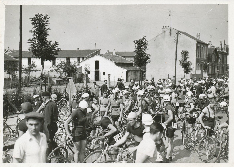 Départ de course (fin des années 30)