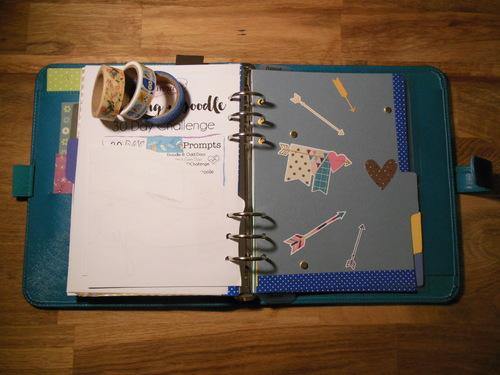 Organisons nos projets couture/tricot/scrap/DIY avec des inserts pour planner