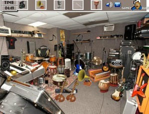 Musical room - Hidden objects