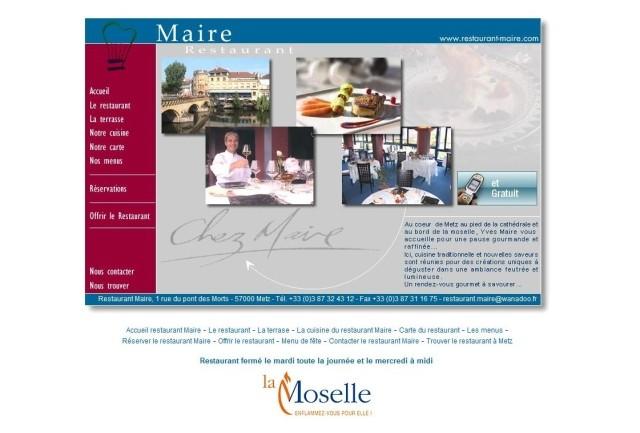 Le restaurant Maire à Metz 14 Marc de Metz 2011