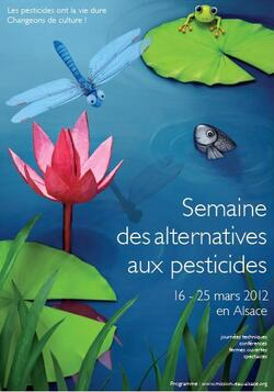Damb'Nature participe à la Semaine des Alternatives aux Pesticides