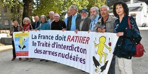 Île Longue. Rassemblement pour le désarmement nucléaire dimanche (LT.fr-8/10/18-17h52)