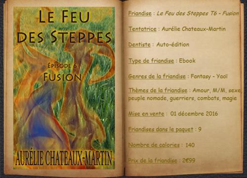 Le Feu des Steppes T6 - Fusion - Aurélie Chateaux-Martin