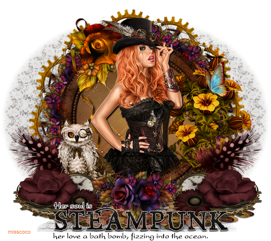 Her Soul Is Steampunk