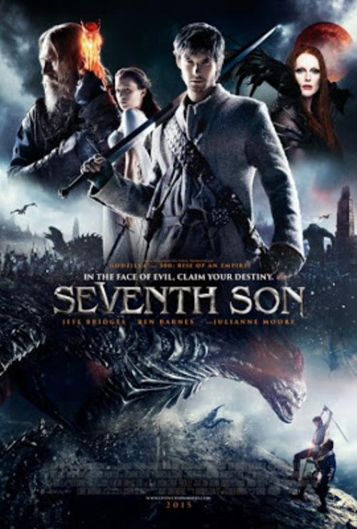 Le septième fils, vraiment pas terrible, j'ai peur de lire le roman maintenant tant c'était loupé...