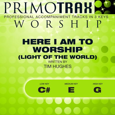 Album cover Here I Am to Worship - Light of the World (Worship Primotrax) - EP