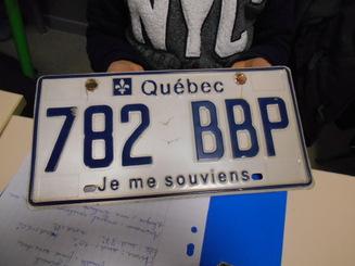 Exposé sur le Québec