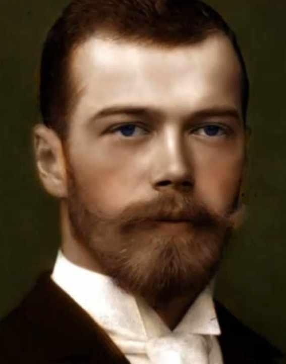 A beautiful portrait of the Tsar Nicholas II of Russia by Dmitri MEDVEDEV