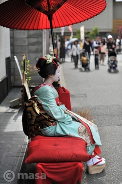 Maiko à Kyoto 京都の舞妓