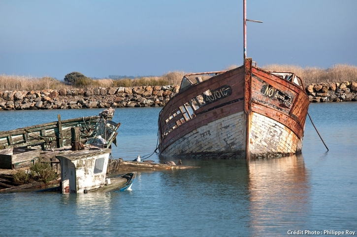 Le cimetière des bateaux