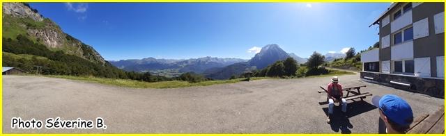 Plateau de Sanchès et refuge de l'Abérouat 1