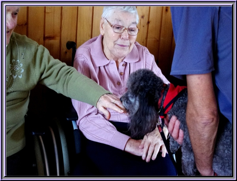 Titi Falcon à la maison de retraite