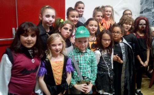 Halloween avec les U11 filles